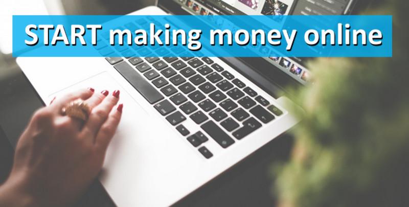 Start a Blog and Make Money Online - Make Money Blogging